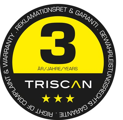 triscan warranty badge