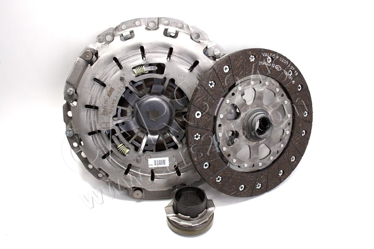 SET CLUTCH PARTS BMW 21207551576 2