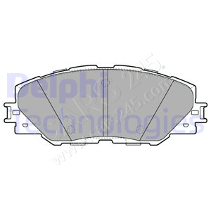 Brake Pad Set, disc brake DELPHI LP2003