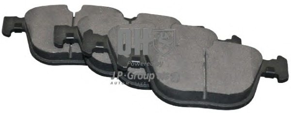 Brake Pad Set, disc brake Quinton Hazell 1463700719 main