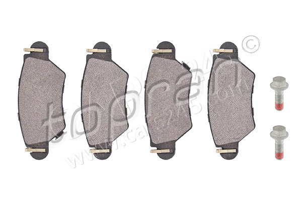Brake Pad Set, disc brake TOPRAN 205946755 main