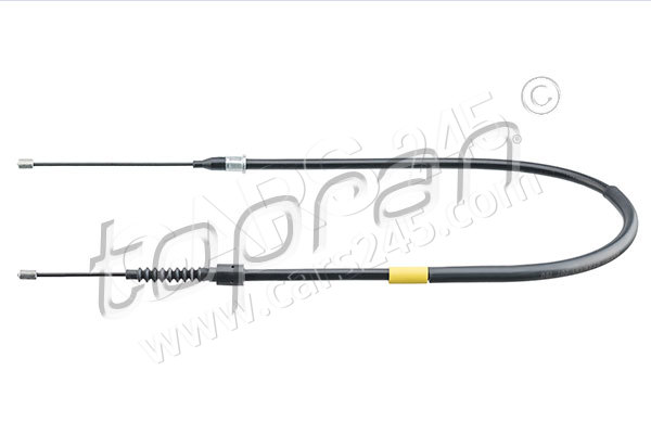 Cable, parking brake TOPRAN 207190585