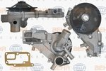 Water Pump HELLA 8MP376801-161
