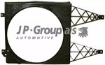 Cowling, radiator fan JP Group 1115000800