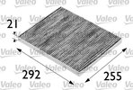 Filter, interior air VALEO 698688